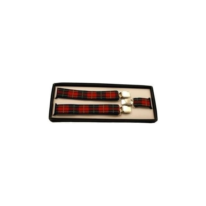 Union Jack Wear Adjustable Tartan Braces