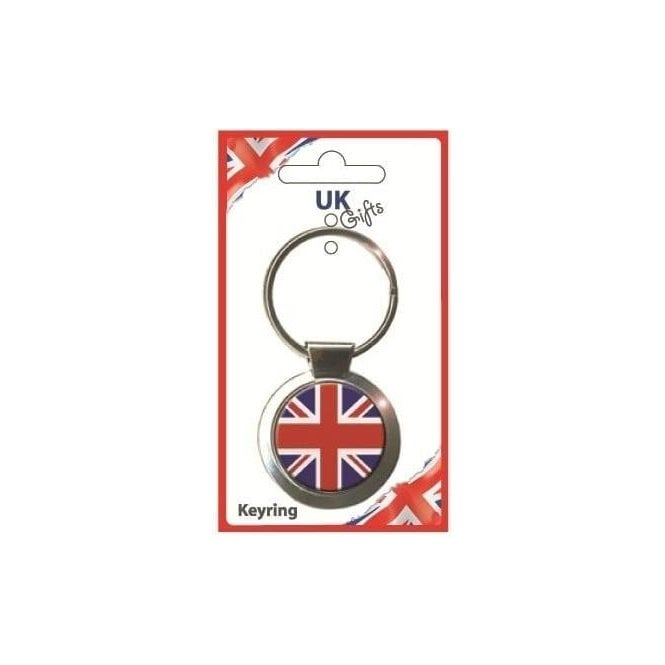 Union Jack Wear Brilliantly British Union Jack Keyring