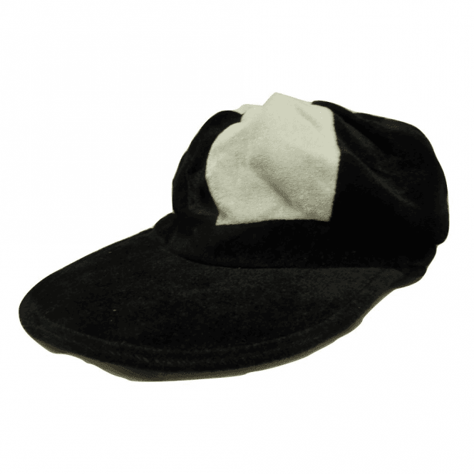 Union Jack Wear Black & White Baker Boy Hat
