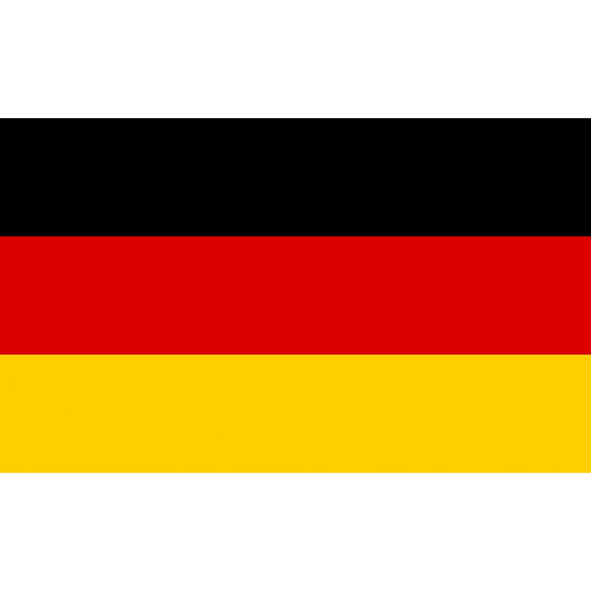 German National Flag 5' x 3'