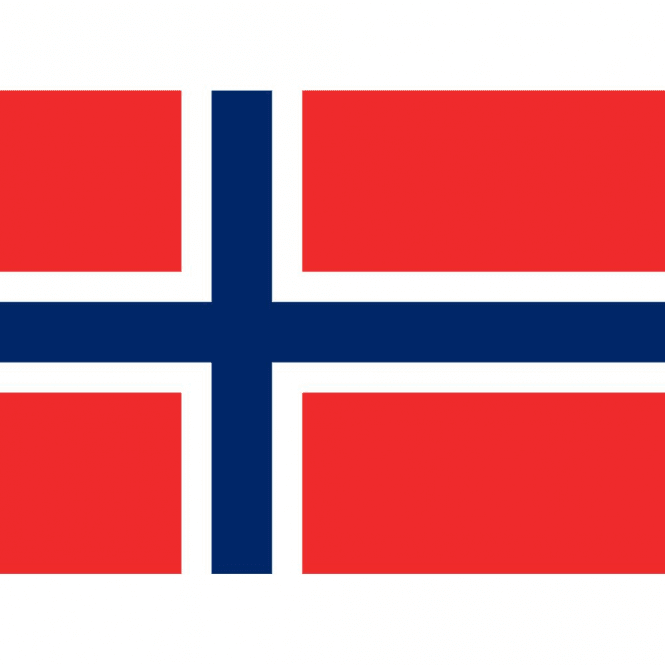 Union Jack Wear Norway National Flag 5' x 3'