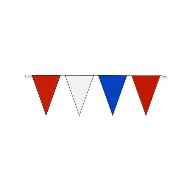 Union Jack Wear Red-White-Blue Value Bunting 3.4 metres
