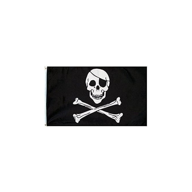 Union Jack Wear Skull & Crossbones Flag