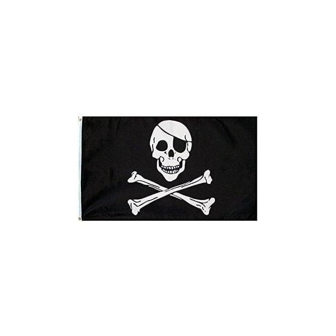Union Jack Wear Skull & Crossbones Flag