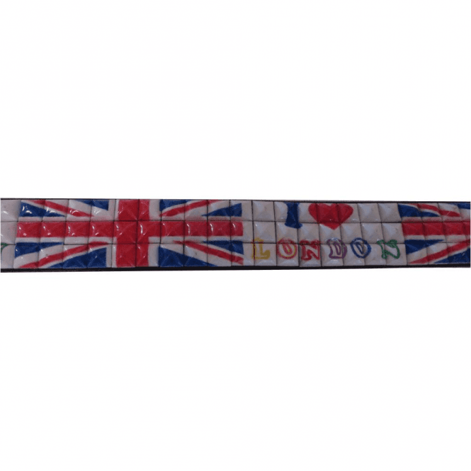 "Union Jack ""I Love London"" Belt"