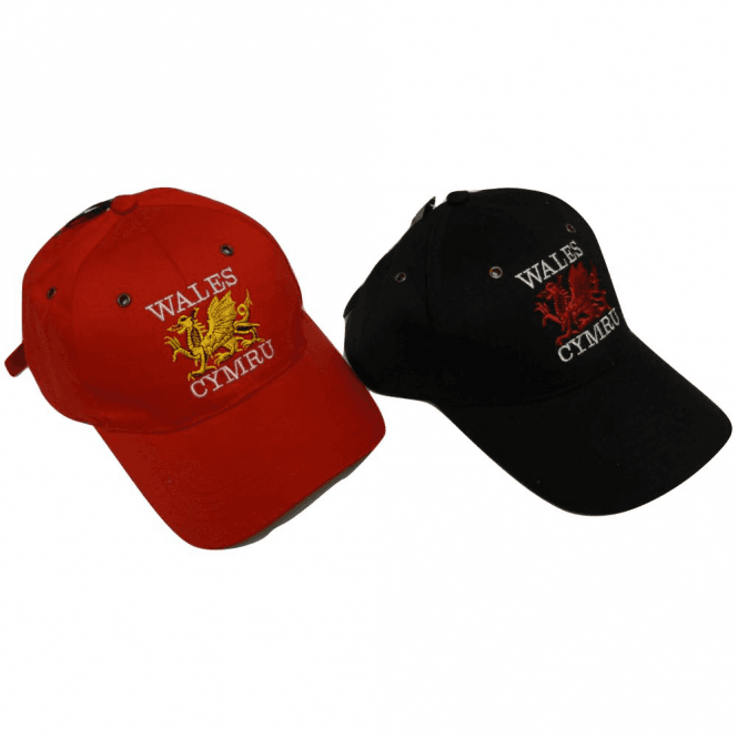 Welsh Dragon Baseball Cap