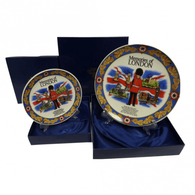 Union Jack Wear Memories of London Display Plate