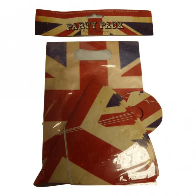 Union Jack Wear Union Jack Party Pack - Party bags, hats & Masks