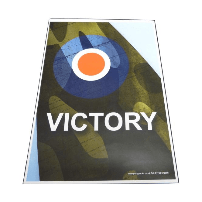 Union Jack Wear Victory Poster