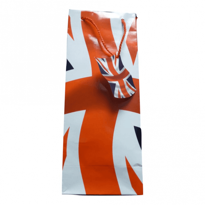 Union Jack Bottle Gift Bag 3 Pack