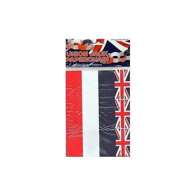 Union Jack Wear Union Jack Paper Chain Kit