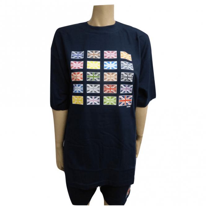 Multi Union Jack Designer T shirt
