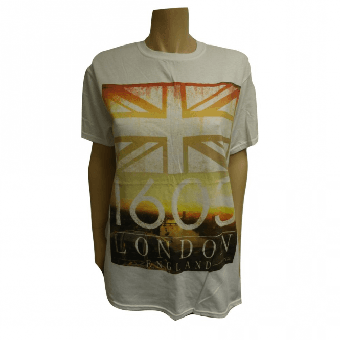 Union Jack Wear Union Jack Flag London T Shirt