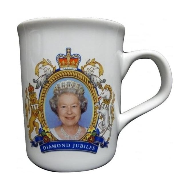 Union Jack Wear Diamond Jubilee/Coronation Mug - Collectors Item