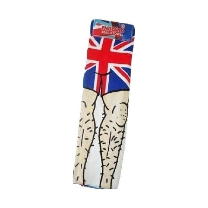 Union Jack Wear Union Jack Novelty Beach Towel