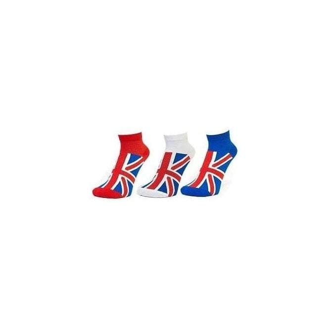 Union Jack Wear Union Jack Ladies Sports Socks