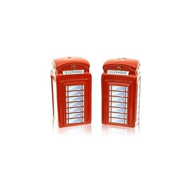 Union Jack Wear Telephone Box Cruet Set