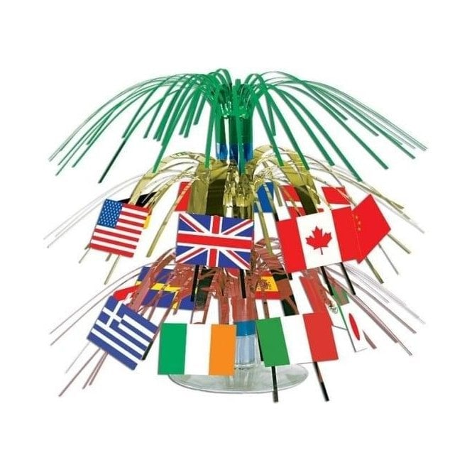Union Jack Wear International Flag Christmas Cascade
