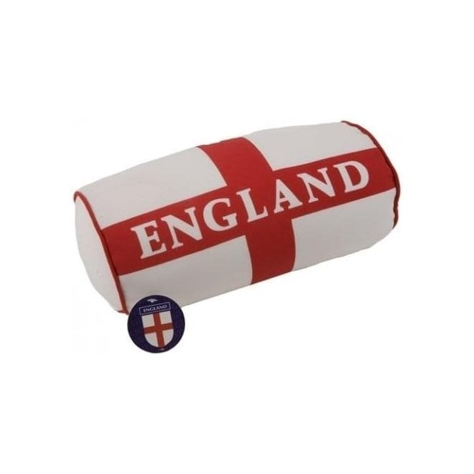 Union Jack Wear England St George Cross Barrel Cushion