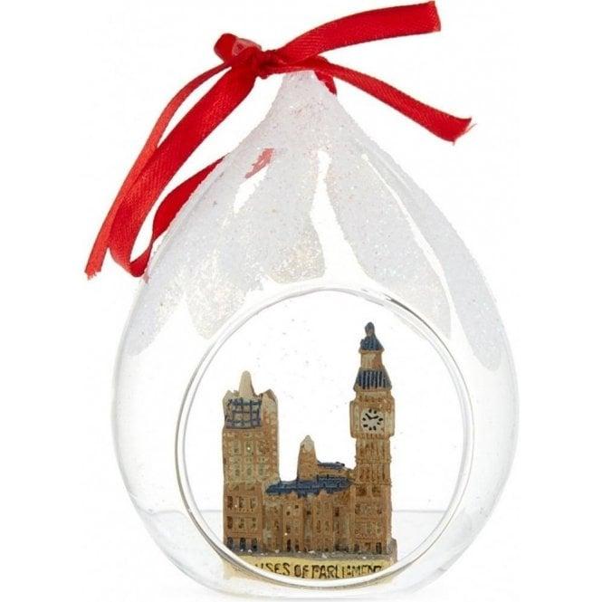 Union Jack Wear Houses of Parliament Christmas Tree Decoration