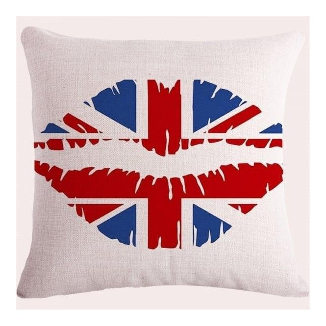 Union Jack Wear Union Jack Lips Cushion Covers