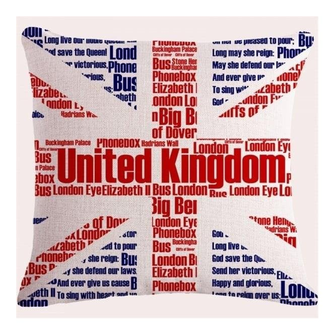 Union Jack Wear Union Jack Icon Cushion Cover