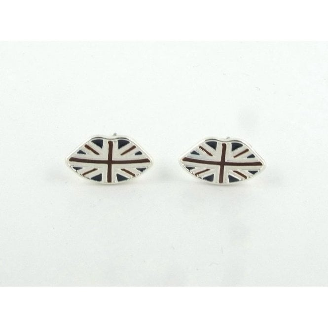 Union Jack Wear Union Jack Lip Earrings