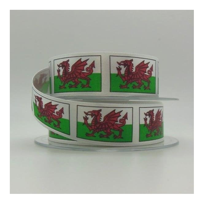 Union Jack Wear Welsh Red Dragon Ribbon
