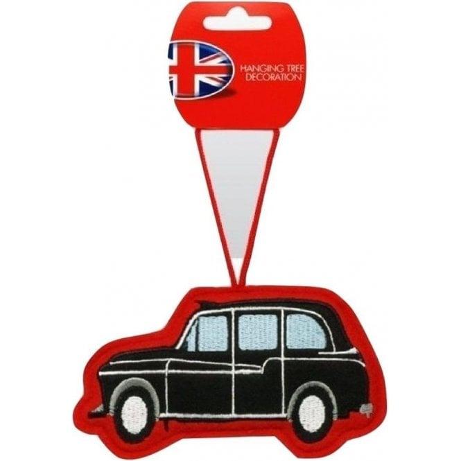 Union Jack Wear London Cab Christmas Tree Decoration