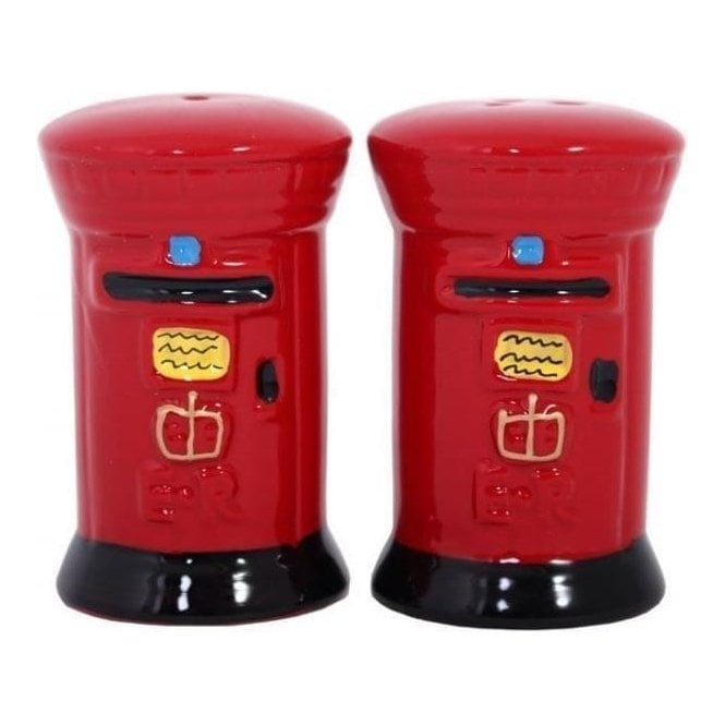 Union Jack Wear Post Box Salt and Pepper set Cruet Set