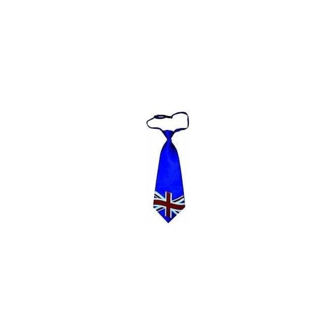 Union Jack Wear Union Jack Satin Jumbo Tie