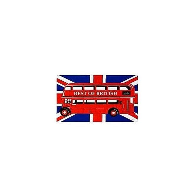 Union Jack Wear London Bus Tea Towel