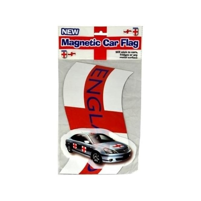 Union Jack Wear Magnetic England Car Flag St George Cross ENGLAND