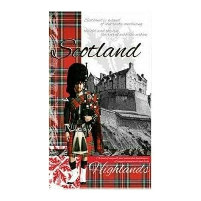 Union Jack Wear Heraldic Scotland Tea Towel