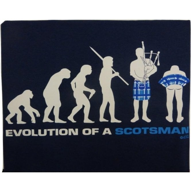 Union Jack Wear Evolution of a Scotsman T Shirt
