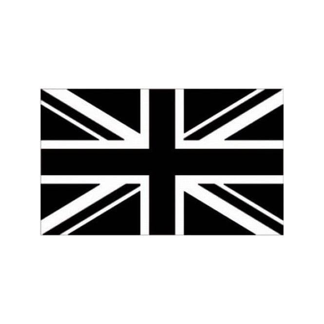 Union Jack Wear Black Union Jack Flag. Black and White 3' x 2'