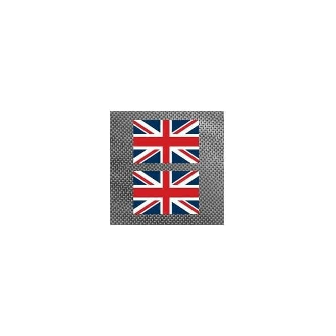 2 x Union Jack Sticker