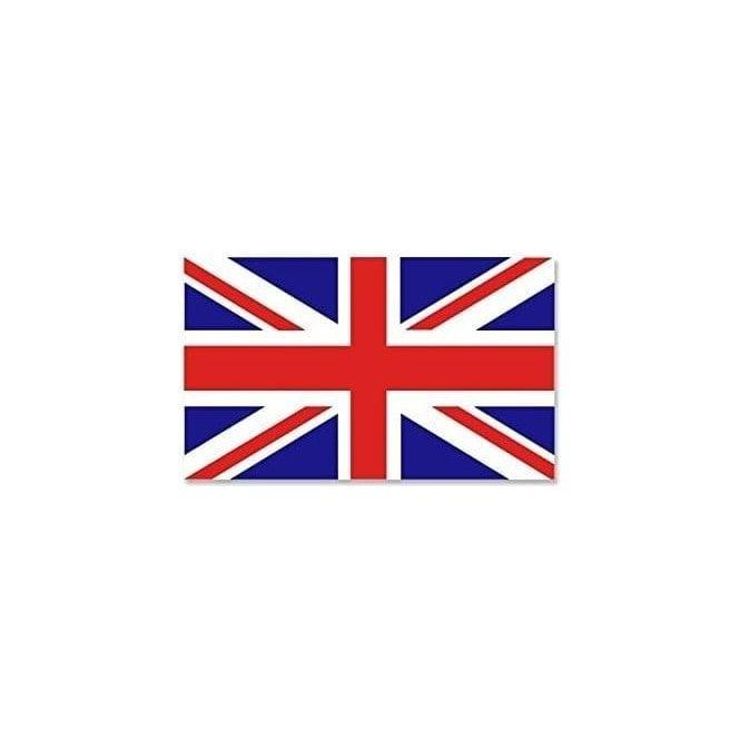 Union Jack Wear Union Jack Sticker approx 10x6cm