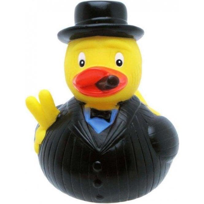 Union Jack Wear Winston Churchill Rubber Duck