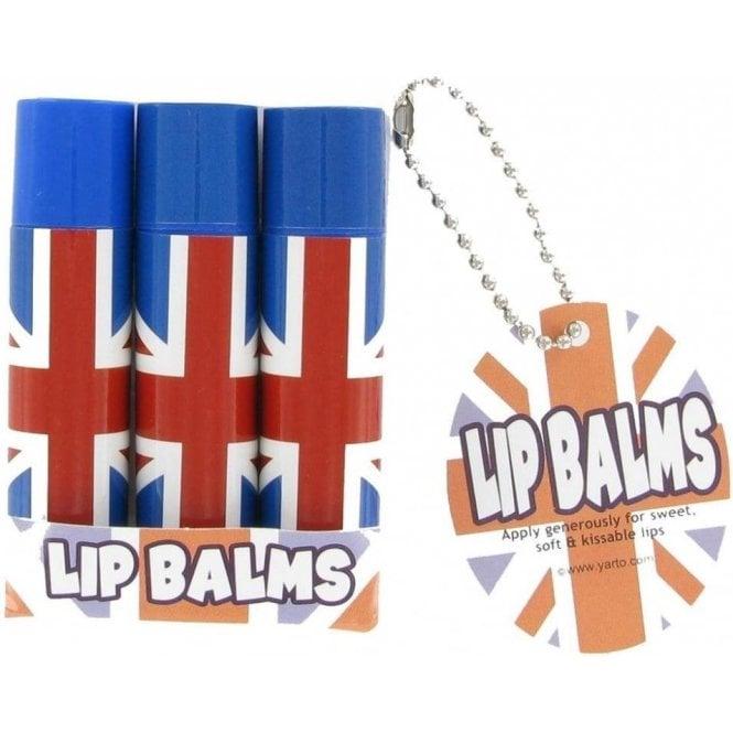 Union Jack Wear Union Jack 3 Pack Lip Balm