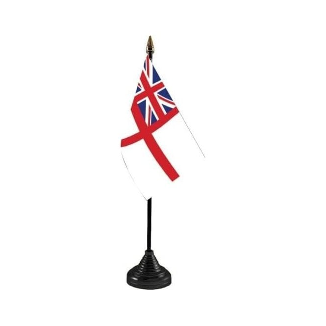 Union Jack Wear A White Ensign Table Flag