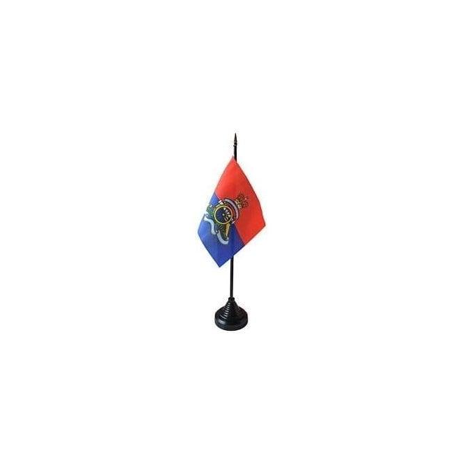 Union Jack Wear Royal Artillery Regiment Table Flag
