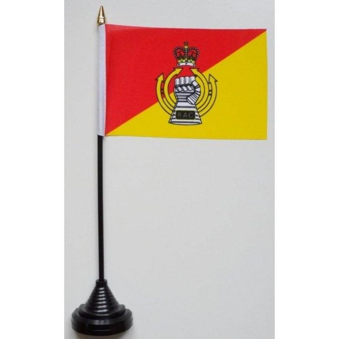 Union Jack Wear Royal Armoured Corps Table Flag