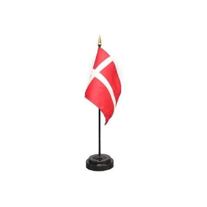 Union Jack Wear Denmark Table Flag