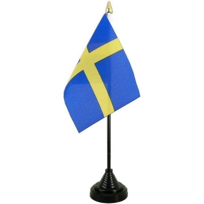 Union Jack Wear Sweden Table Flag