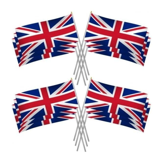 Union Jack Wear Large Union Jack Hand Flags