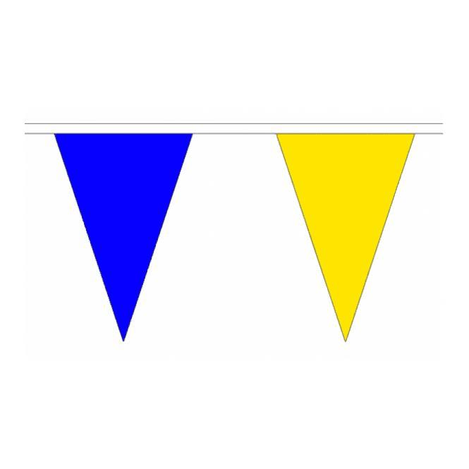 Union Jack Wear Blue & Yellow Bunting 20m Tour De Yorkshire