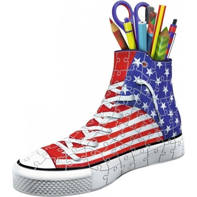 Union Jack Wear American USA Flag 3D Puzzle