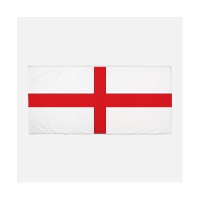 Union Jack Wear St George Flag Beach Towel