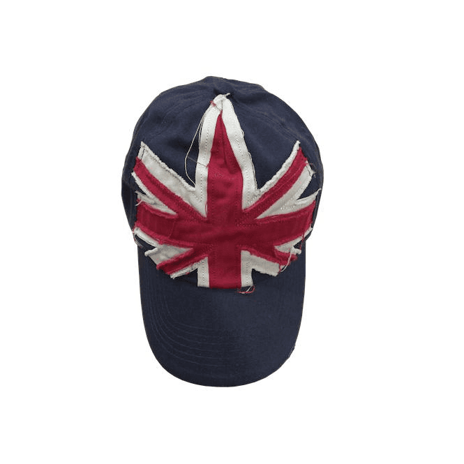 Union Jack Wear Union Jack Distressed Baseball Cap